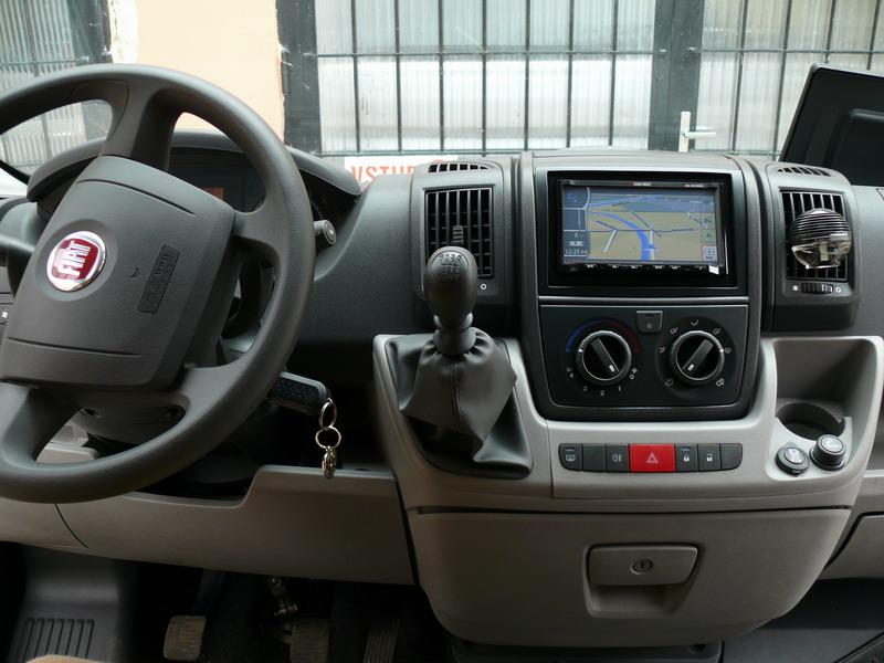 Montáž 2-DIN naviceiveru ZENEC ZE-NC520 do vozu Fiat ...